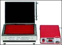 Hochtemperatur-Heizplatte aus TITAN bis 600°C