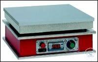 Präzisionsheizplatte in Digitaltechnik, Tischgerät mit einstellbarem Übertemperaturschutz